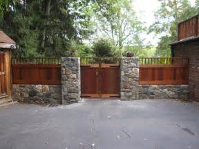Garage Gate Designs decorative wood fence