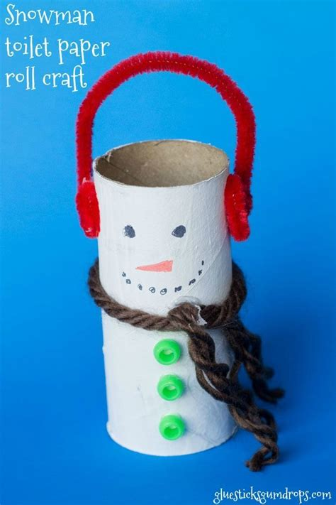 Snowman Toilet Paper Roll Craft - 616 best images about winter ideas for on