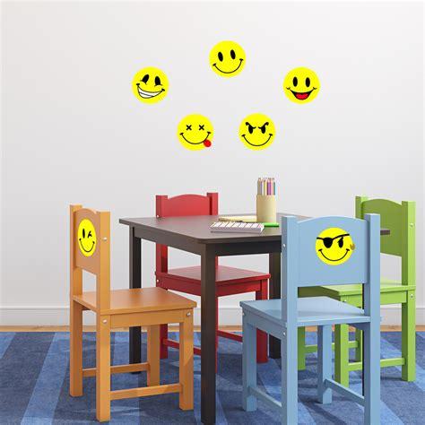 Smiley Deco Sticker by Stickers Muraux Pour Les Enfants Sticker Smileys Pack 3