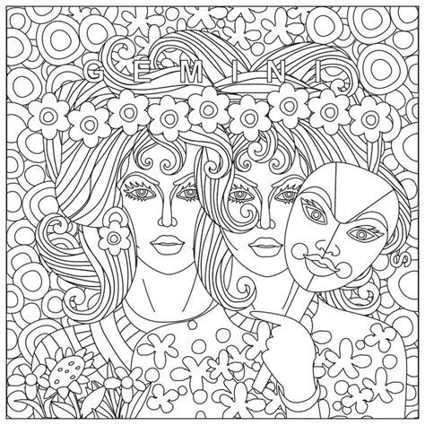 coloring pages for adults zodiac 253 best zodiac coloring pages for adults images on