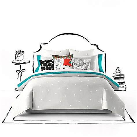 Kate Spade New York Deco Dot Comforter Set Bed Bath Beyond Kate Spade Bed Set