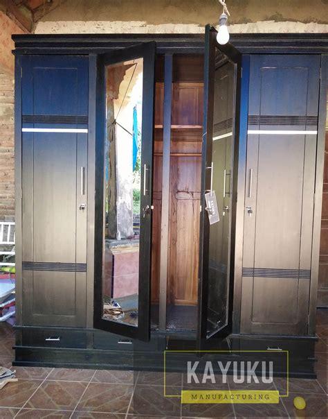 Lemari Jati 4 Pintu Minimalis lemari pakaian jati minimalis 4 pintu mebel jepara