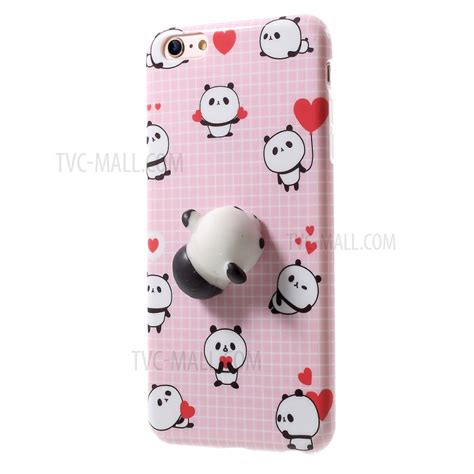 Iphone 6 Plus 3d Panda 1 Soft Silicone Back Limited squishy pinch 3d soft silicone panda custodia cover cover squishy tpu per iphone 6s plus 6