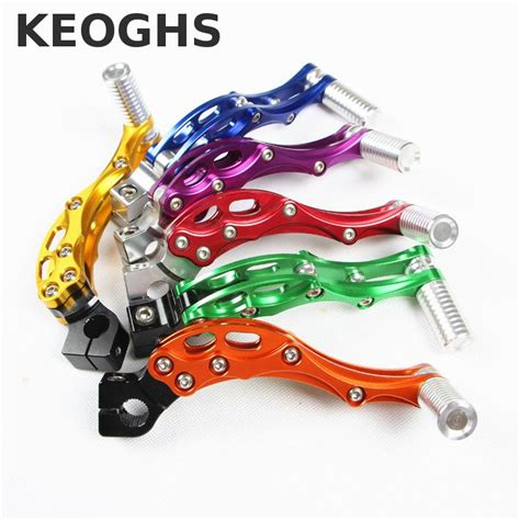 Kick Starter Yamaha Scorpio keoghs motorcycle scooter kick starter start lever cnc for yamaha scooter 100cc jog100 force100