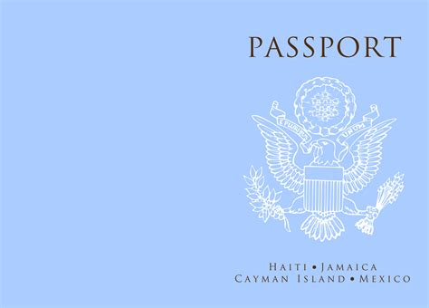 passport template passport booklet template terlidecomma17 blogcu