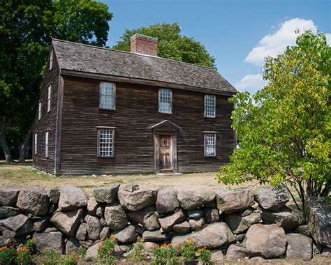 Salt Box House by John Adams Birthplace Flickr Photo Sharing