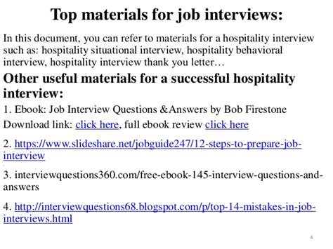 top 36 hospitality questions with answers pdf