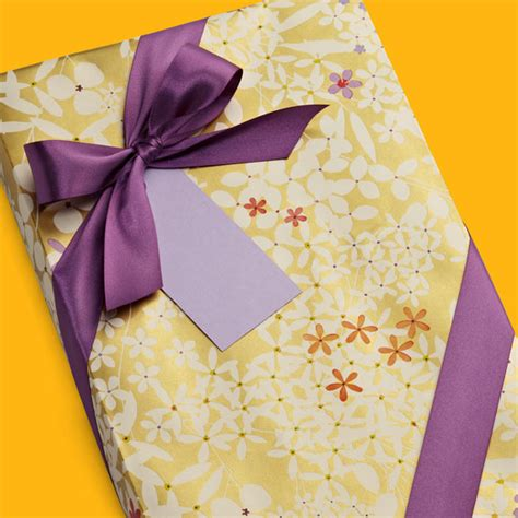 gold patterned gift wrap shop by category the container store