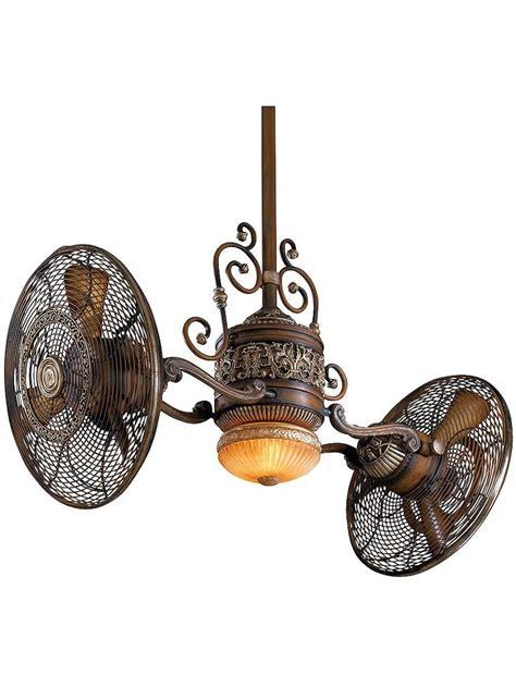 gyro twin ceiling fan steunk ceiling fan ceiling fans pinterest house