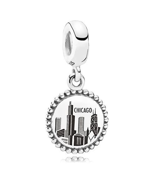 Pandora I Charm Sterling Silver P 644 pandora dangle charm sterling silver unforgettable moment chicago moments collection