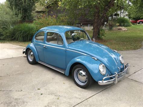 Restored Volkswagen For Sale by 1963 Vw Bug Restored For Sale Volkswagen Beetle