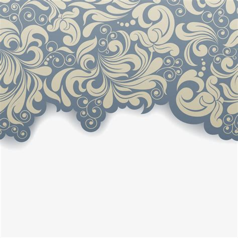 pattern vector no background elegant retro pattern background flowers pattern