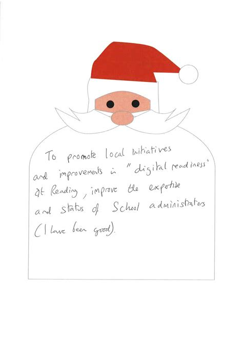 Thank You Letter Year 1 Letters To Santa Local Initiatives Digitally Ready