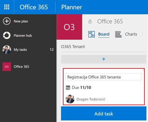 Office 365 Planner Office 365 Planner Extremeovanje