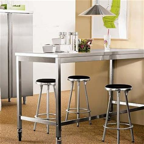 standing height work table design within reach kitchen island home and