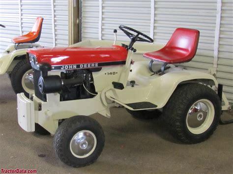 deere patio tractor tractordata deere 140 tractor photos information