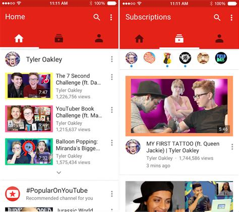 youtube ios layout youtube ios app updated with new design in app editing