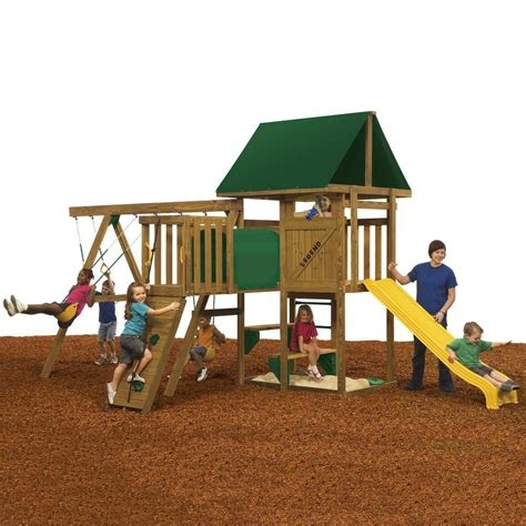 wooden swing sets canada chesapeake wood complete play set pb 8243 in canada