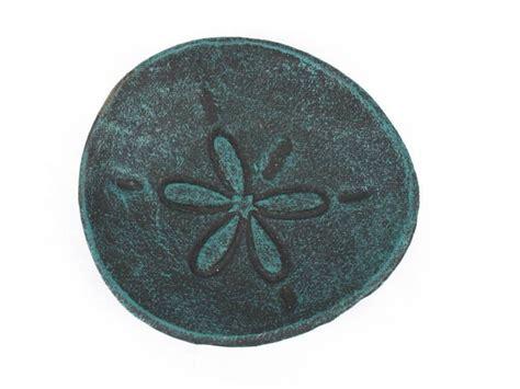 decorative sand buy seaworn blue cast iron sand dollar decorative plate 6