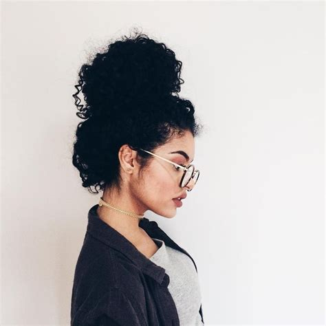 curls hairstyles bun best 25 curly hair buns ideas on pinterest messy curly