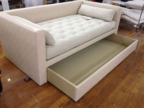 trundle couch trundle bed sofa porter m2m divan into a custom sized