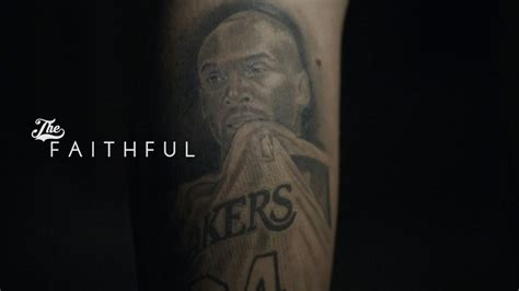 laker tattoo designs the faithful lakers fan gets bryant
