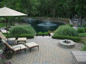 nice backyard with water features my big backyard