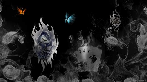 3d tattoo wallpaper free download free 3d skull wallpapers wallpaper cave