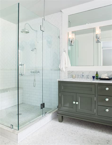 large shower doors subway tile shower bathroom rustic with large shower