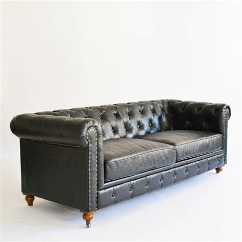 gordon chesterfield sofa gordon sofa black furniture rentals for special events taylor creative inc