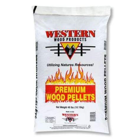 premium wood pellets 40 lb bag 200101 the home depot