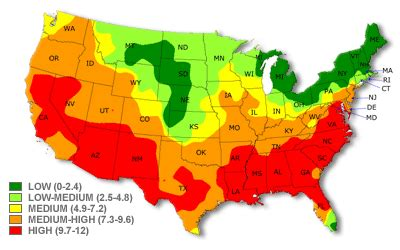 ragweed map usa better health better alan newell health