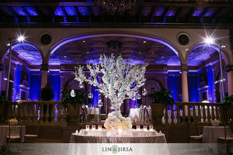 wedding banquet los angeles millennium biltmore hotel los angeles wedding brian and eunice