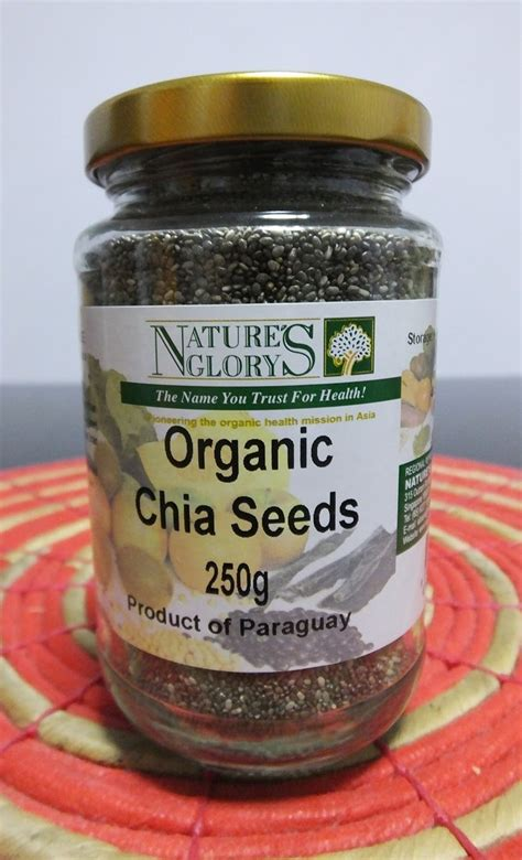 Nature S Energy Organic Chia Seeds 250g Chiaseeds Mexico 250 Gr Gram susan s easy ways to eat clean
