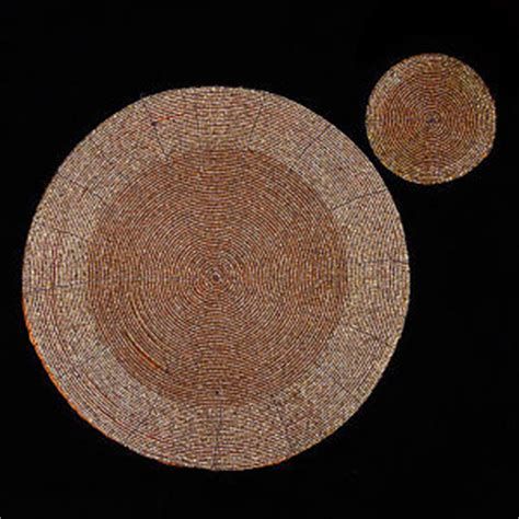 beaded table mats and coasters gold table mats ebay