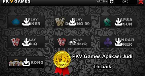 pkv games aplikasi judi  terbaik indonesia situs