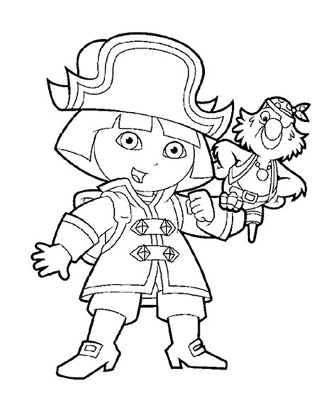 baby dora coloring pages coloring page dora the explorer coloring pages 2