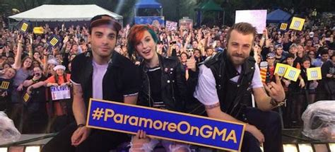 misery business testo paramore concerto morning america team world