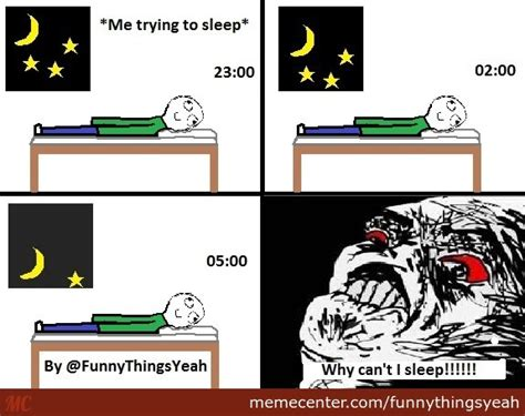 Trying To Sleep Meme - trying to sleep by funnythingsyeah meme center