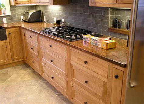 red birch kitchen cabinets kitchen in red birch on behance