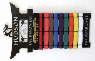 martial arts belt rack tae kwon do belt display rack