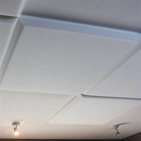 white acoustic ceiling panel mp