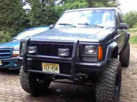 comanche jeep 4 door purchase used 1990 jeep comanche pioneer standard cab