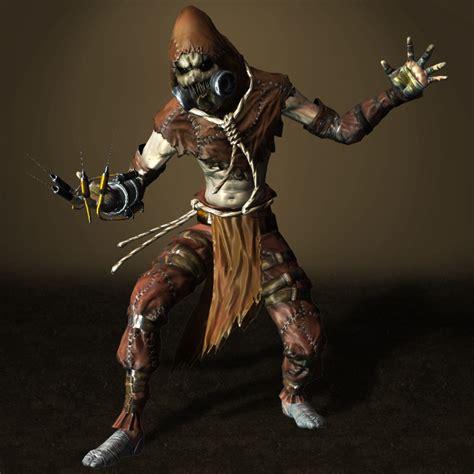 Batman Arkham Scarecrow batman arkham asylum scarecrow updated by armachamcorp on