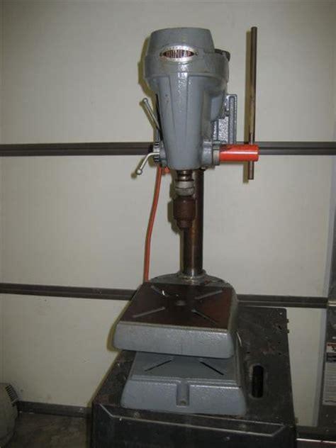 photo index sears dunlap  bench drill press