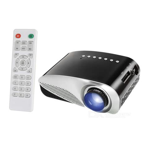 Proyektor Gp8s gp8s mini led projector 800 lumins support 1080