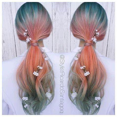 mermaid colored hair misaki future trend spotter mermaid hair colored