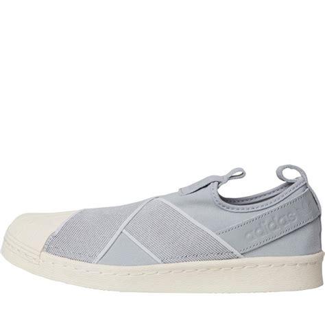 Adidas Slip On Onix Grey Adidas Superstar Slip On Kado Sepatu buy adidas originals womens superstar slip on trainers
