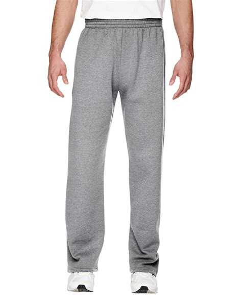 fruit of the loom sweatpants fruit of the loom 7 2 oz sofspun open bottom pocket