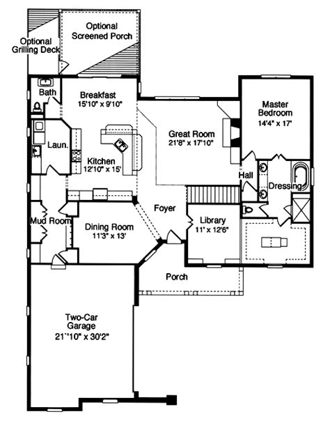 empty nester home plans 1500 square feet is the right size southern empty nest houses with over 2000 square feet drawn by